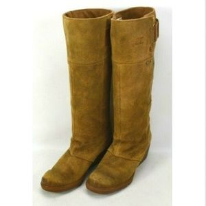 Sorel Toronto Wedge Suede Boots Womens Size 6.5 M